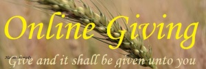 Give and it shall be given unto you