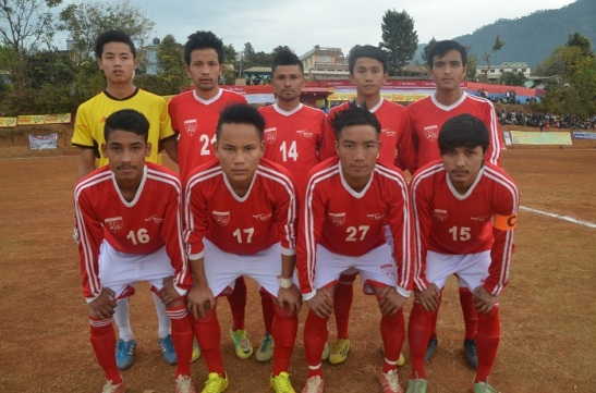 Church Boys Kathmandu in Falgunanda Gold Cup Phidim.