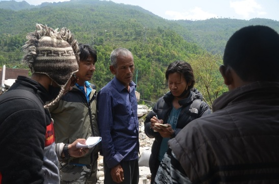 We reached to villages to report how Christians are  doing in the Earthquake Zones.