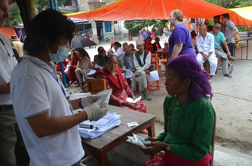 Free Medical Camps to Earthquake victims were organized in many places and more than 1400 people were treated. Thank you for your partnership.