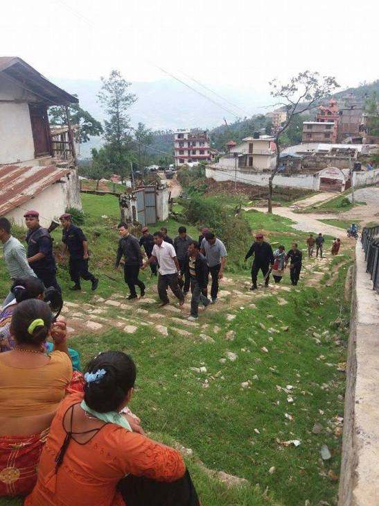 8 Christians in Charikot Dolakha of Nepal were arrested while giving love gifts to Children. Their only mistake was giving Great Story booklet for Children.